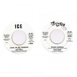 45 giri  juke box EDDY GRANT - Living on the frontlin / MATIA BAZAR - Italian sinfonia (1980)