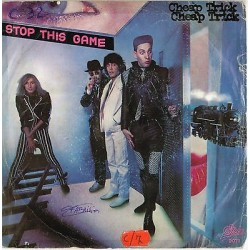 """CHEAP TRICK - Stop this game / Who D'King (1980) 45 giri 7"""""""