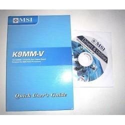DRIVER CD + MANUALE MSI K9MM-V