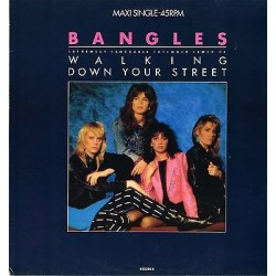 "THE BANGLES - Walking Down Your Street / Return Post (HOL 1986  CBS 650280 6) 12"" 45 giri"