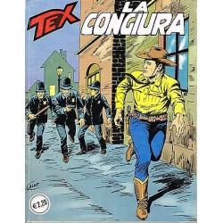 TEX NR. 354 LA CONGIURA  (Originale 1990) Bonelli