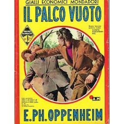 Giallo Mondadori, nr.161 - Il palco vuoto, E.Ph. Oppenheim - 1940