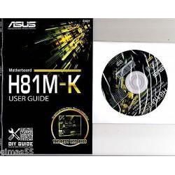 DRIVER CD + MANUALE ASUS H81M-K