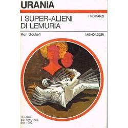 Urania nr. 818 - Ron Goulart, I super alieni di Lemuria - Mondadori 1980