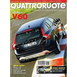 Quattroruote 662-2010 Volvo V60-Nissan Juke-Citroen C4-Seat Ibiza-Toyota Auris