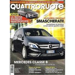 Quattroruote 673-2011 Mercedes Classe B- Abarth 695-Hyundai Veloster-Kia Rio