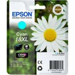 CARTUCCIA ORIGINALE EPSON T1812 CIANO18 XL Margherita C13T18124010