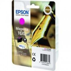 CARTUCCIA ORIGINALE EPSON T1633 MAGENTA16 XL (PENNA/CRUCIVERBA) C13T16334010