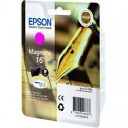 CARTUCCIA ORIGINALE EPSON T1623 MAGENTA 16 (PENNA/CRUCIVERBA) C13T16234010