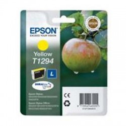 CARTUCCIA ORIGINALE EPSON T1294 GIALLO MELA  C13T12944011