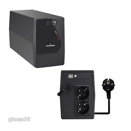 UPS Gruppo di continuità TECNOWARE ERA PLUS 1100 1100VA/770W USB 2.0 interactive