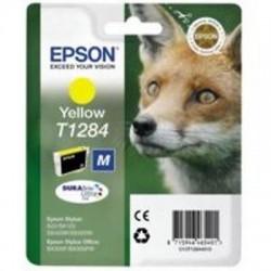 CARTUCCIA ORIGINALE EPSON T1284 GIALLO  Volpe C13T12844011