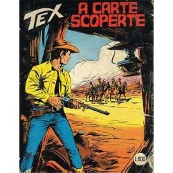 TEX NR. 239 A carte scoperte (Originale Settembre 1980) Bonelli