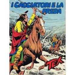 TEX NR. 244 I cacciatori e la preda (Originale Febbraio 1981) Bonelli