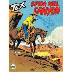 TEX NR. 247 Sfida nel canyon (Originale Maggio 1981) Bonelli