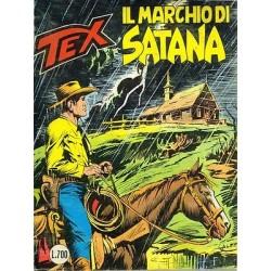 TEX NR. 248 Il marchio di satana (Originale giugno 1981) Bonelli