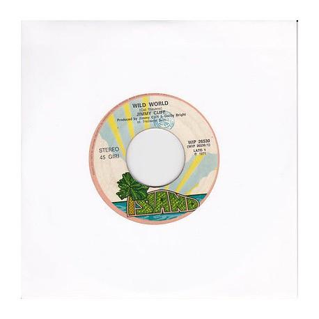 "JIMMY CLIFF - Wild World / Goodbye Yesterday  (ITA 1971 ISLAND WIP 26530) 45 giri 7"""