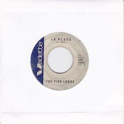 "THE FIVE LORDS - La Playa / Ninna nanna triste (ITA 1971 VEDETTE VRN 34054) 45 giri 7"""