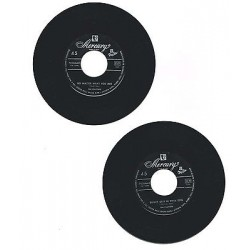 """The Platters - No Matter What You Are / Smoke Gest In Your Eyes (1958) 45 giri 7"""""""