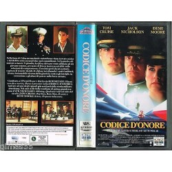 VIDEOCASSETTA VHS CODICE D'ONORE, Tom Cruise, Jack Nicholson, Demi Moore