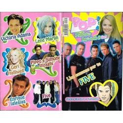 Rivista Pop's 1999 nr.72 Five, Victoria Adams, Pippo e Simone Inzaghi