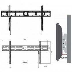 """STAFFA A MURO FISSA PER TV LED/LCD/PLASMA DA 42"""" A 80"""" Ultra Slim VESA MAX. 800x400"""