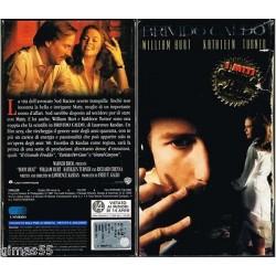 VIDEOCASSETTA VHS BRIVIDO CALDO, William Hurt, Kathleen Turner