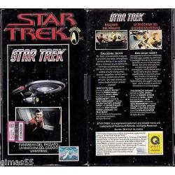 VHS STAR TREK  - Fantasmi dal passato / La macchina del giudizio