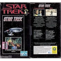 VHS STAR TREK  - Il mostro dell'oscurità / Arena