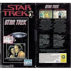 VIDEOCASSETTA VHS STAR TREK  - Umiliati per forza maggiore / Licenza di sbarco