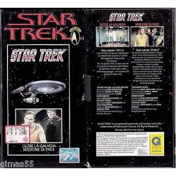 VHS STAR TREK  - Oltre la galassia / Missione di pace