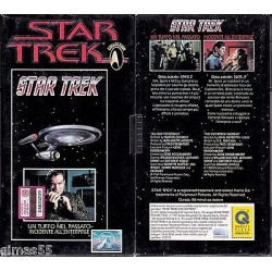 VHS STAR TREK  - Un tuffo nel passato / Incidente all' Enterprise