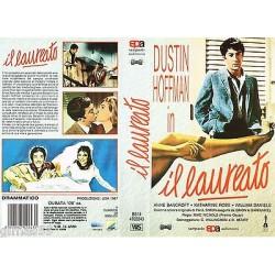 VIDEOCASSETTA VHS IL LAUREATO - Dustin Hofman, Annie Bancroft, Katharine Ross