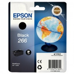 CARTUCCIA ORIGINALE  EPSON T266 NERO C13T26614010 x WorkForce WF-100W