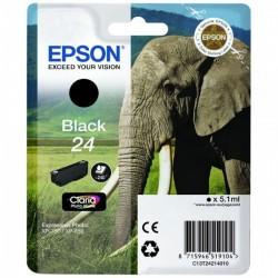 CARTUCCIA ORIGINALE EPSON T2421 NERO 24 Elefante C13T24214010