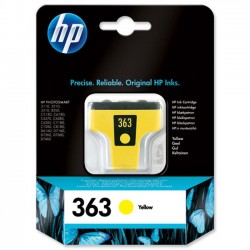 CARTUCCIA ORIGINALE HP 363 Y GIALLO C8773EE