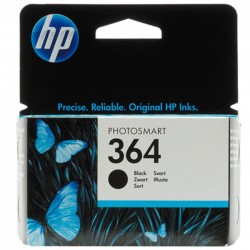 CARTUCCIA ORIGINALE HP 364  BK NERO CB316EE