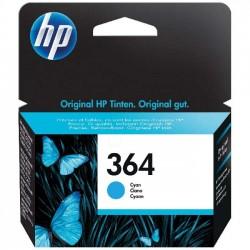 CARTUCCIA ORIGINALE HP 364 C CIANO CB318EE