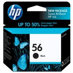 CARTUCCIA ORIGINALE HP 56 NERO C6656AE 520 pagine