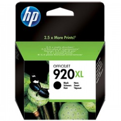 CARTUCCIA ORIGINALE HP 920BK XL NERO CD975AE 1200 pagine