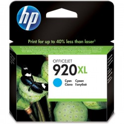 CARTUCCIA ORIGINALE HP 920C XLCIANO CD972AE 700 pagine