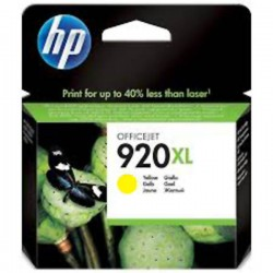 CARTUCCIA ORIGINALE HP 920Y XL GIALLO CD974AE 700 pagine