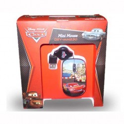 MINI MOUSE DISNEY DSY-MM230 USB Ottico, 1000 dpi, CARS
