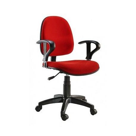 Sedia poltroncina dattilo  per ufficio casa scrivania Easy  Colore Rosso
