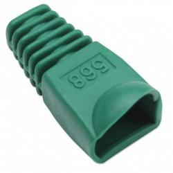 Confez. 10 Copriconnettori per Plug Copriconnettore RJ45 verde