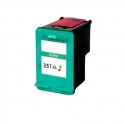 CARTUCCIA RIGENERATA COMPATIBILE  HP 351 XL COLORE CB338EE Alta capacità