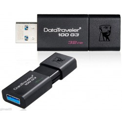 MEMORIA FLASH PEN DRIVE DATA TRAVELER USB 3.0 32GB KINGSTON DT100G3/32GB