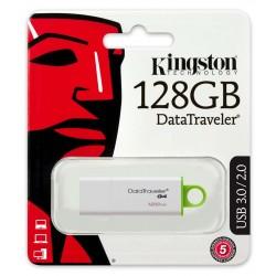 MEMORIA FLASH PEN DRIVE DATA TRAVELER USB 3.0 128GB KINGSTON DTIG4/128GB