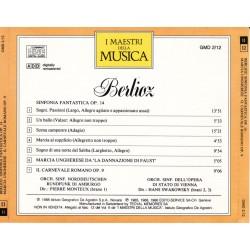 Berlioz - Sinfonia Fantastica Op. 14 / Marcia Ungherese Da 'La Dannazione Di Faust' / Il Carnevale Romano Op. 9