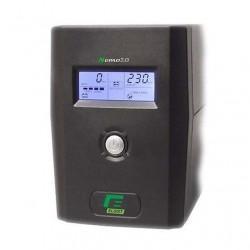 GRUPPO DI CONTINUTA' UPS ELSIST NEMO 2.0 80 -800VA LCD + AVR LINE INTERACTIVE MONOFASE - USB+Software di gestione, Uscite: 2IEC